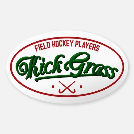 Field Hockey Players Kickgrass Stickers