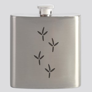 Birdwatching - Bird Footprints Flask