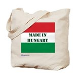"""Made in Hungary"" Tote Bag"
