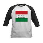 """Made in Hungary"" Kids Baseball Jersey"