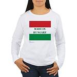 """Made in Hungary"" Women's Long Sleeve T-Shirt"