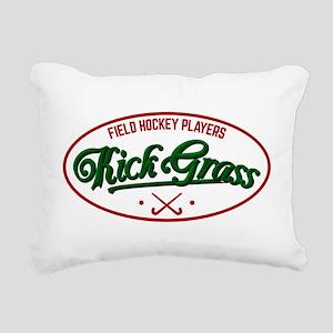Field Hockey Players Kickgrass Rectangular Canvas
