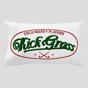 Field Hockey Players Kickgrass Pillow Case