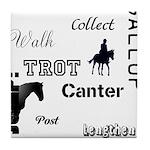 Horse Design #52000 Tile Coaster
