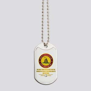 (DTOM) Triumph Over Evil Dog Tags