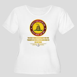 (DTOM) Triumph Over Evil Plus Size T-Shirt