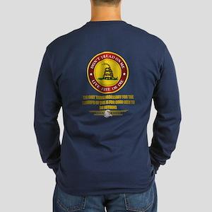 (Dtom) Triumph Over Evil Long Sleeve Dark T-Shirt