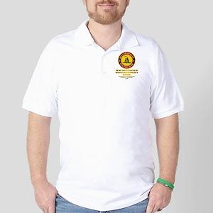 (DTOM) Triumph Over Evil Golf Shirt