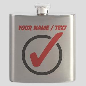 Custom Checkmark Flask