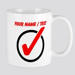 Custom Checkmark Mugs