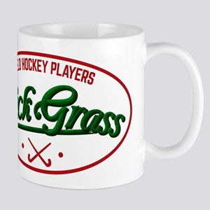Field Hockey Players Kickgrass Mugs