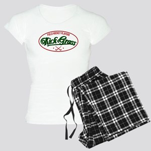 Field Hockey Players Kickgrass Pajamas