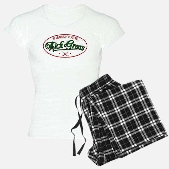 Field Hockey Players Kickgrass Pajamas