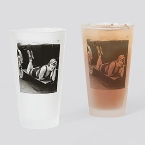 Bathing Beauty, 1918 Drinking Glass
