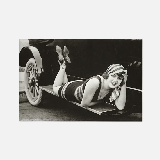 Bathing Beauty, 1918 Rectangle Magnet
