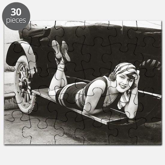 Bathing Beauty, 1918 Puzzle