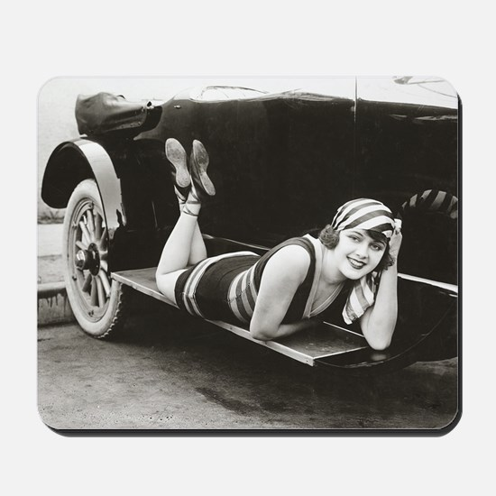 Bathing Beauty, 1918 Mousepad