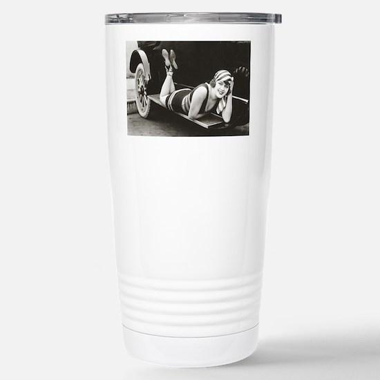 Bathing Beauty, 1918 Stainless Steel Travel Mug