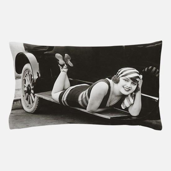Bathing Beauty, 1918 Pillow Case