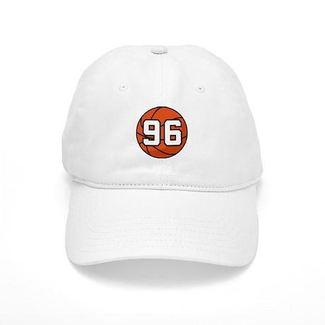Basketball Player Number 96 Cap
