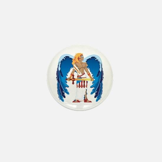 St. Michael Mini Button