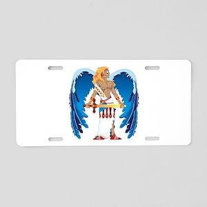 St. Michael Aluminum License Plate