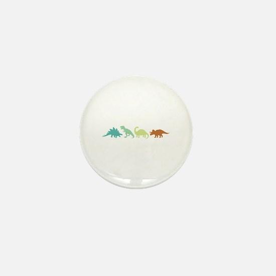 Prehistoric Medley Border Mini Button
