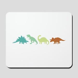 Prehistoric Medley Border Mousepad