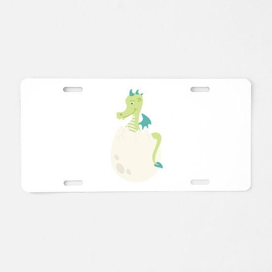 Dragon Hatchling Aluminum License Plate