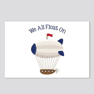 We All Float On Postcards (Package of 8)