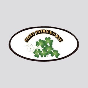 Saint Patrick's Day With Text Patches