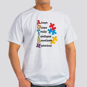 Autism Acrostic Light T-Shirt