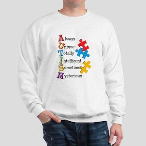 Autism Acrostic Sweatshirt