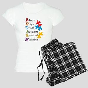 Autism Acrostic Women's Light Pajamas