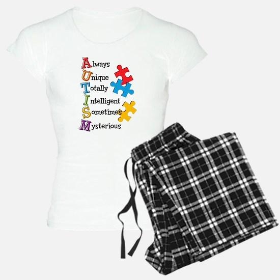 Autism Acrostic Pajamas