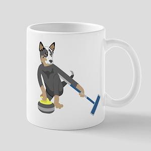 Australian Cattle Dog Curling Mug