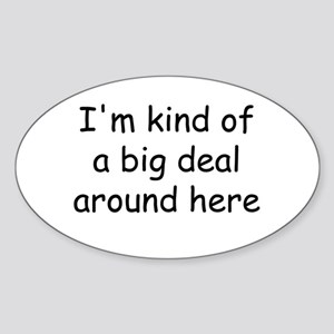 big deal Sticker