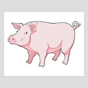 Pink Pig Poster Design