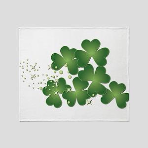 Saint Patrick's Day Throw Blanket