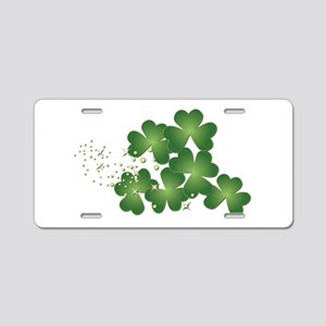 Saint Patrick's Day Aluminum License Plate