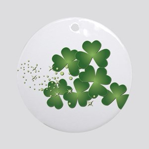 Saint Patrick's Day Ornament (Round)