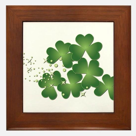 Saint Patrick's Day Framed Tile