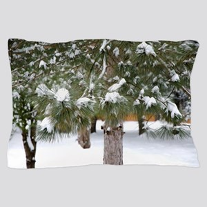 Winter trees 1 Pillow Case