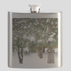 Winter trees 1 Flask