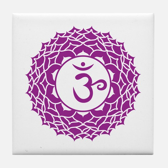 Cute Dhyana Tile Coaster