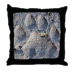 Puma Cougar Track Throw Pillow