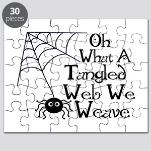Tangled Web Spider Puzzle