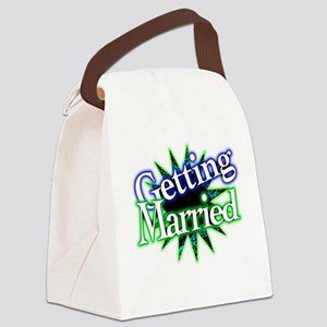 Getting Married Canvas Lunch Bag