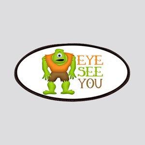 Eye See You Funny Cyclops Monster Patches