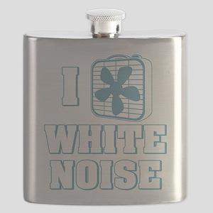I Love White Noise Flask